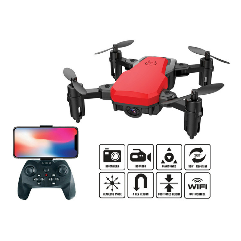 Z10 MINI Folding Aircraft WIFI FPV With 0.3MP HD Camera Altitude Hold Headless Mode Foldable Arm RC Quadcopter Pocket Drone feichao mini gw58 foldable selfile drone fpv 0 3mp 2 0mp hd camera pocket quadcopter remote and wifi control aircraft drone