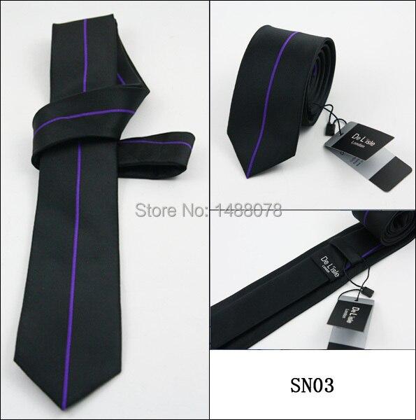 Purple Striped Black Ties 2M8-2+