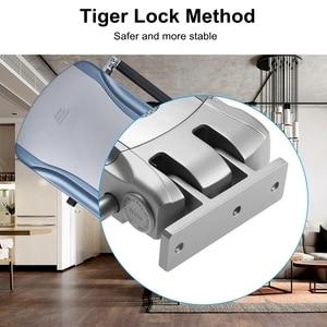 Image 5 - אינטליגנטי אלחוטי בלתי נראה Keyless אלקטרוני דלת מנעול דלת בקרת גישה מנעול חכם מנעול לבית אבטחה אנטי גנב