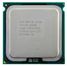 Intel Xeon X3360 Quad Core 2.83 GHz LGA 775 95 W 12 M Cache Server CPU Gratis Pengiriman