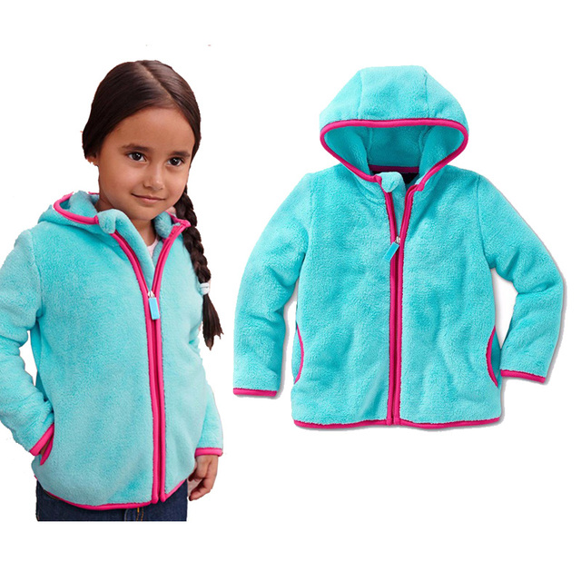 af4628d2b2e6 1-5 Years Autumn Winter Jackets For Girls Fashion Baby Girls Outerwear Kids  Clothes Girls Coat Keep Warm Children Clothing