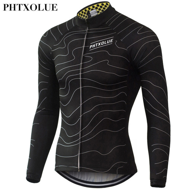 094378d5e Phtxolue Cycling Jerseys Long Sleeve Men Quick Dry Spring Mountain Bike  Clothes Breathable Bicycle Cycling Clothing QY063-in Cycling Jerseys from  Sports ...