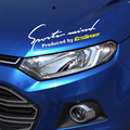 SPORT MIND design bumpers car sticker for FORD ECOSPORT,fashion reflective decals and labels cover vinyl