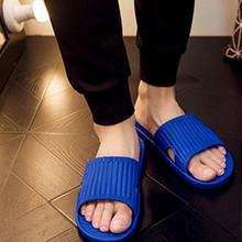 Летние мужские Нескользящие шлепанцы; домашние Тапочки для ванной; мужские однотонные Повседневные тапочки на плоской подошве; zapatos hombre