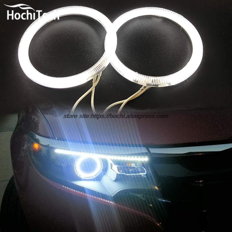 HochiTech Excellent CCFL Angel Eyes Kit Ultra bright headlight illumination for Ford Edge 2011 2012 hochitech excellent ccfl angel eyes kit ultra bright headlight illumination for ford edge 2011 2012