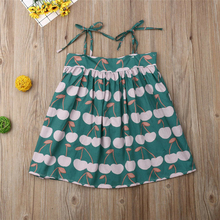 Girls Dresses 2019 Toddler Infant Kids Baby Girls Dress Princess Party Wedding Dresses Sleeveless Kids Dress A Line Sundress 2018 brand new toddler infant kids child party wedding formal dresses rose girl princess dress flower chiffon sundress kids 2 8t