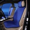 Viscose almofada do assento de carro quatro estações geral respirável 3d 2 Pçs/set