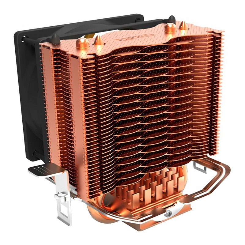 PCCOOLER S83 Cpu Cooler Copper Plating Fins 2 Heatpipes 80mm/8cm Silent Fan CPU Cooling Radiator Fan For AMD Intel 775 1155 11