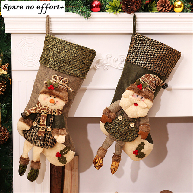 large vintage christmas stockings filler artificial christmas tree ornaments christmas decorations for home