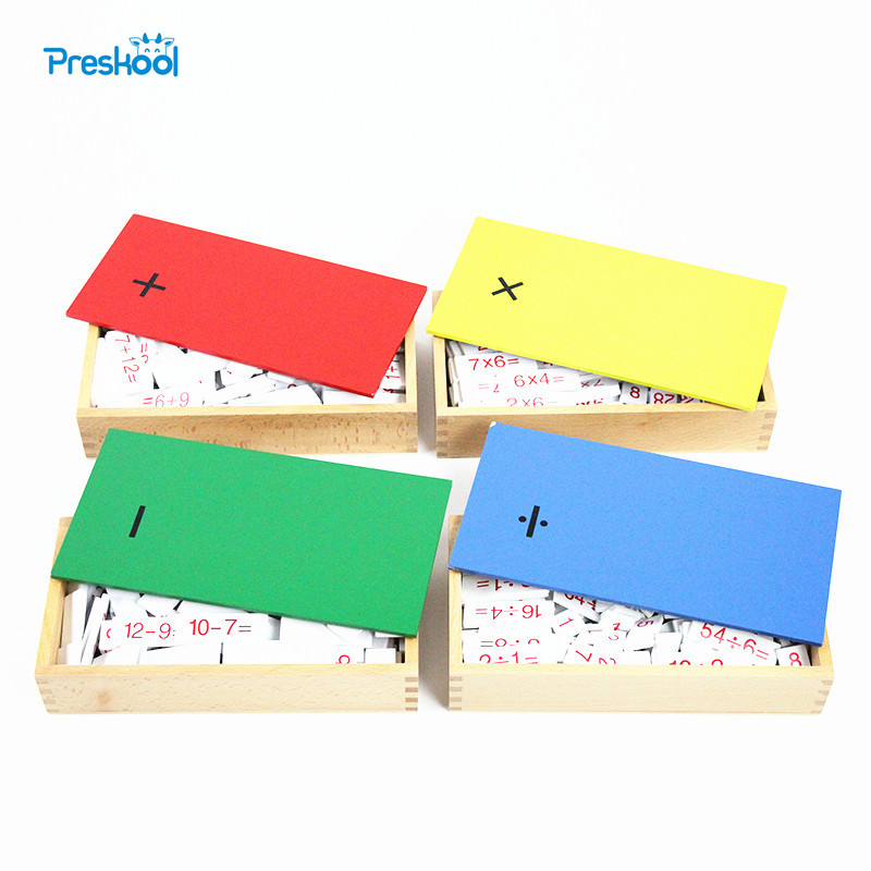 Baby Toy Montessori Mental Math Arithmetic Board Wood for Early Childhood Education Preschool Kids Brinquedos Juguetes montessori materials paper for geometric inlay steel boards beech wood math toys early education toy can smarter freee shipping