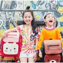 BEDDYBEAR Childrens Backpack School Bags For Kids Cartoon Rabbit Bear Girls Schoolbags Boys