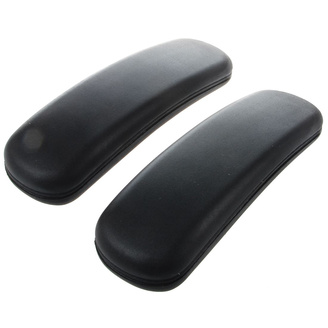 Office Chair Parts Arm Pad Armrest Replacement 9.75 x 3 (Black)Office Chair Parts Arm Pad Armrest Replacement 9.75 x 3 (Black)