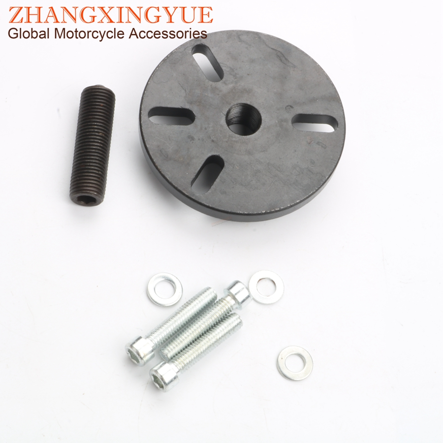 alternator pulse wheel gear clamp 3 hole for pgo rex rs ultima simson suzuki tgb yamaha 50cc 2t universal [ 900 x 900 Pixel ]