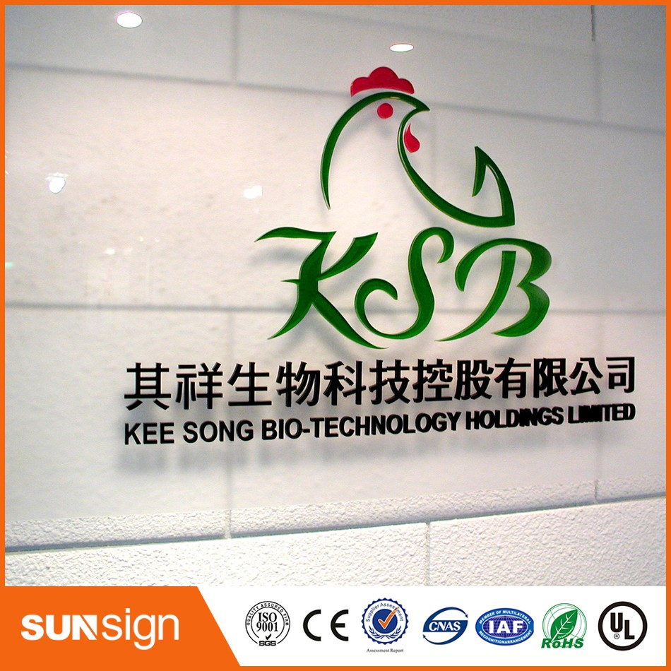 Hot Sale Store Window Advertising Acrylic Letter Sign