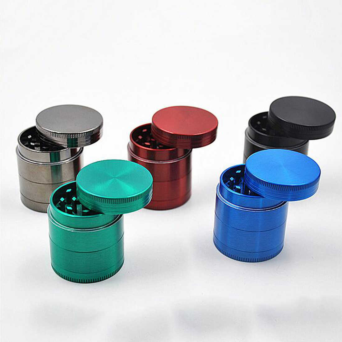 Pipe 4 Layer Broken Smoke Grinder Metal Tobacco Grinder Smoking Pipe Herb  Grinders Weed Cigarette Pipe Maker