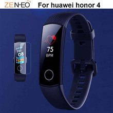 HD film bracelet For Huawei Honor Band 4 Watch Screen Protector Accessories For honor 4 Anti-scratch Protective Film 1/3/5pcs