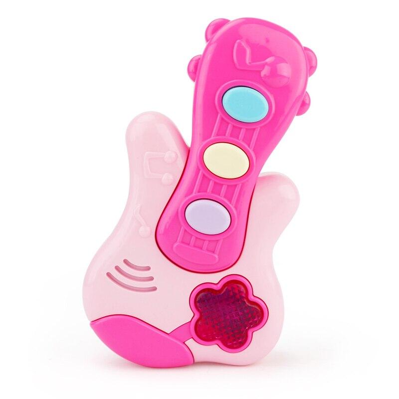 Trẻ Em màu hồng Tìm Hiểu Hoạt Hình Cây Đàn Guitar Ukulele Nhỏ Trái Cây Có Thể Chơi Nhạc Cụ Đồ Chơi Cho Trẻ Em Học Tập Sớm Cụ