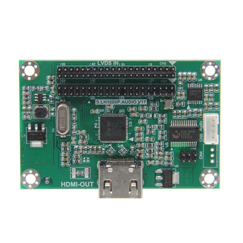 LVDS au convertisseur de carte adaptateur HDMI prend en charge la carte de démonstration de résolution 1080 P