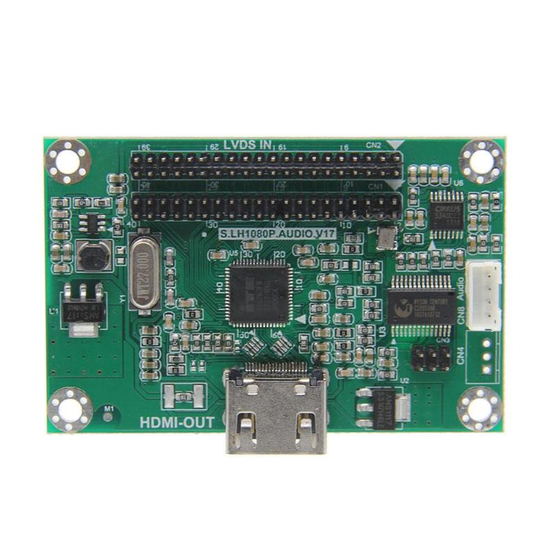 LVDS to HDMI Adapter Board Converter Support 1080P Resolution Demo Board pcie m 2 to sata3 0 adapter board extension board work with firefly rk3399 demo board