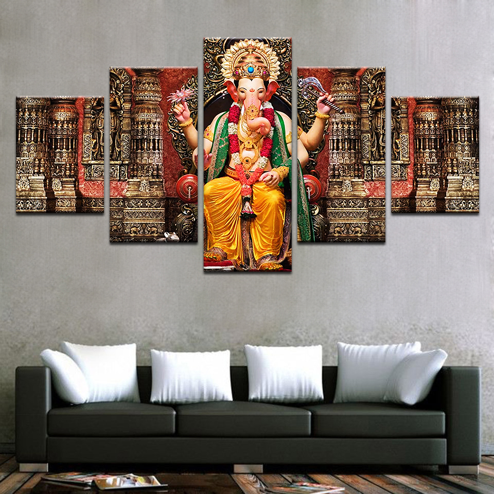 Ganesh Wall Art compare prices on ganesha wall art- online shopping/buy low price