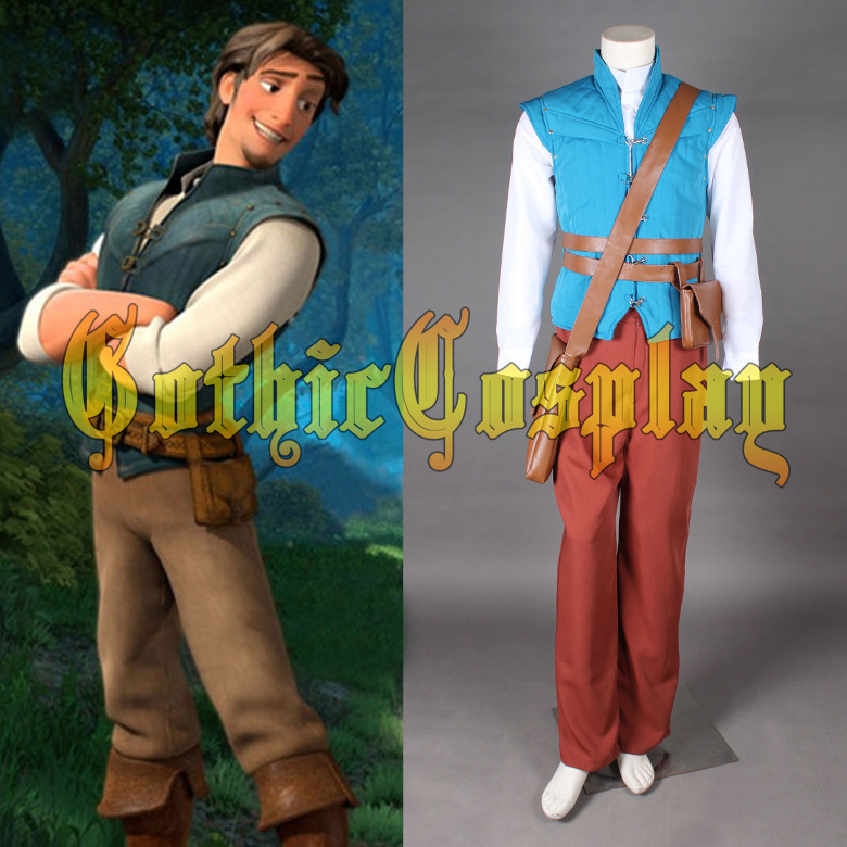 Halloween Grimm's Fairy Tales Tangled The Prince Of Lettuce Costume Movie Cosplay Costume