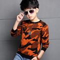 Kids boys camouflage sweater 2016 Spring & Autumn baby boy clothing big virgin fashion knit sweater 4/5/6/7/8/9/10/11/12 years