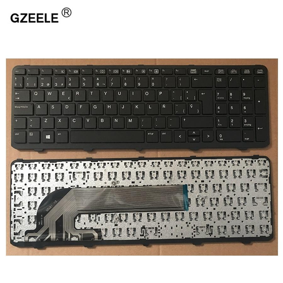 все цены на GZEELE new Spanish keyboard For HP PROBOOK 450 G0 450 G1 455 G1 470 G1 laptop SP keyboard with FRAME black онлайн
