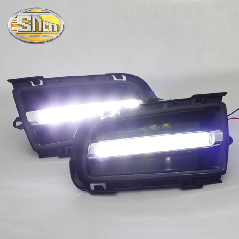 SNCN LED Daytime Running Light For Mazda 6 2003 2004 2005 2006,Car Accessories Waterproof ABS 12V DRL Fog Lamp Decoration led 12v turning signal light drl daytime running light for mazda 6 2013 2014 waterproof abs fog lamp decoration