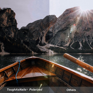 Image 3 - החלפת ToughAsNails מקוטב משקפי שמש עדשות עבור אוקלי זרז אש צבע אדום שיקוף (עדשה בלבד)