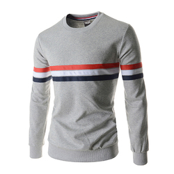 Black gray pullovers men round collar long sleeve striped thermal polo shirts mens youth 2017 fashion.jpg 250x250