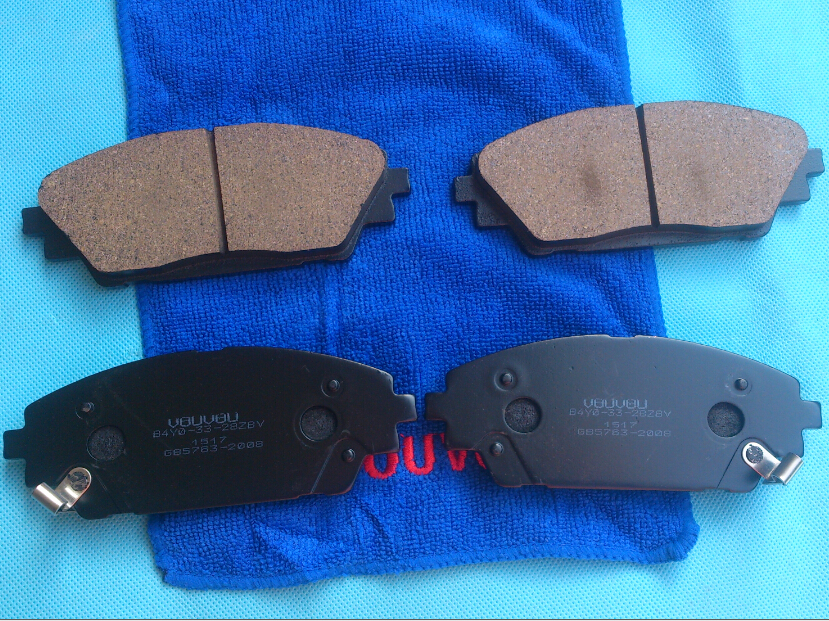 brake system front brake pad for new mazda 3 axela 2014. Black Bedroom Furniture Sets. Home Design Ideas