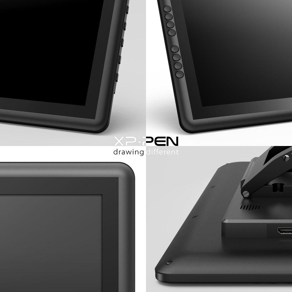 XP-Pen Artist16Pro dibujo tableta Monitor gráfico tableta Digital electrónica con teclas exprés y soporte ajustable - 5