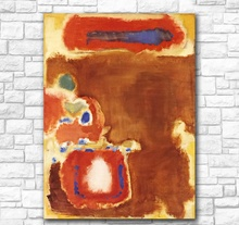 For Living Room Abstract Oil Painting Mark Rothko Untitled Canvas wall art on canvas Home Decor Modern No Frame