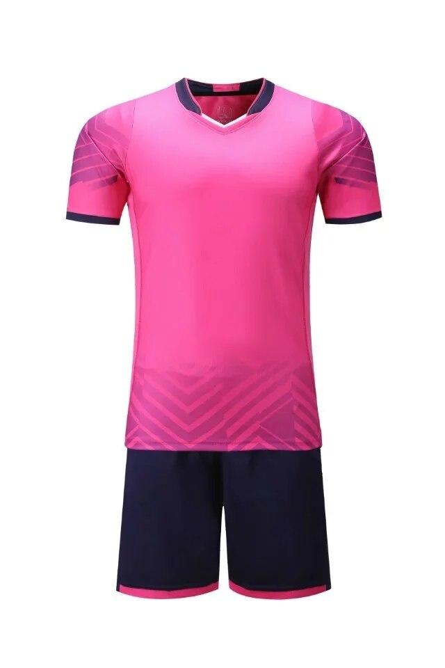 8679d4e7e Adult Men Soccer Jerseys Set Survetement Football kit Futbol Youth ...