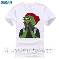 Pepe the Frog Meme Shirt Men Male Fashion Short Sleeve Fashion Custom Big Size Group Sad Frog Tshirt