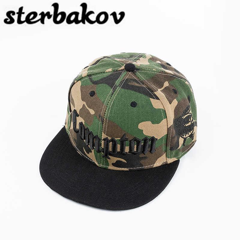 Sterbakov CAMO marca runing carta SnapBack gorra de béisbol camuflaje hip  hop sombrero para hombres mujeres 39259ccda7b