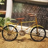 Retro bike model Iron Crafts Home Personalized bike model Decorative Creative Technology Gifts