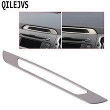 QILEJVS Interieur Console Display Chrome Cover Molding Trim voor Kia Sportage R 2011-2015(China)
