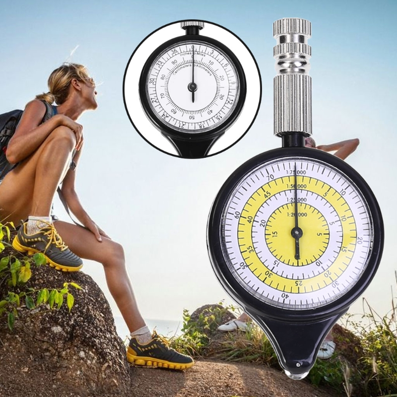 Map Rangefinder Odometer Multifunction Compass Curvimeter Outdoor Climbing Sport in Compass from Sports Entertainment
