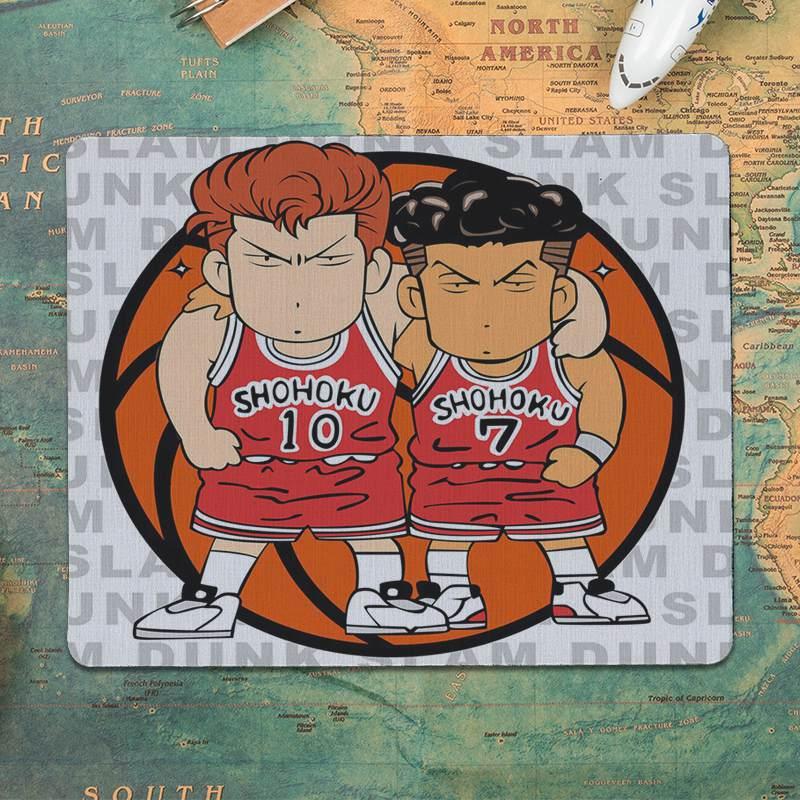 MaiYaCa баскетбольный Slam dunk Противоскользящий прочный резиновый коврик размер мыши 18x22 см 25x29 см игровые коврики для мыши-5