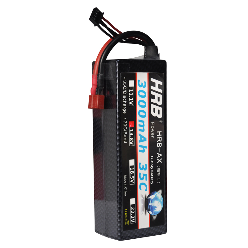 HRB RC Car Hard Case Lipo Battery 4S 14.8V 3000mAh 35c MAX 70C RC Bateria Drone Akku RC Car Truck Boat Helicopter Quadcopter hrb hard case banana connector lipo 2s battery 7 4v 5500mah 35c max 70c rc drone akku for rc car traxxas 1 10 truck quadcopter