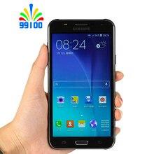 Восстановленный разблокированный сотовый телефон Samsung Galaxy J7 J700F с двумя Sim-картами, Восьмиядерный, 1,5 ГБ ОЗУ 16 Гб ПЗУ