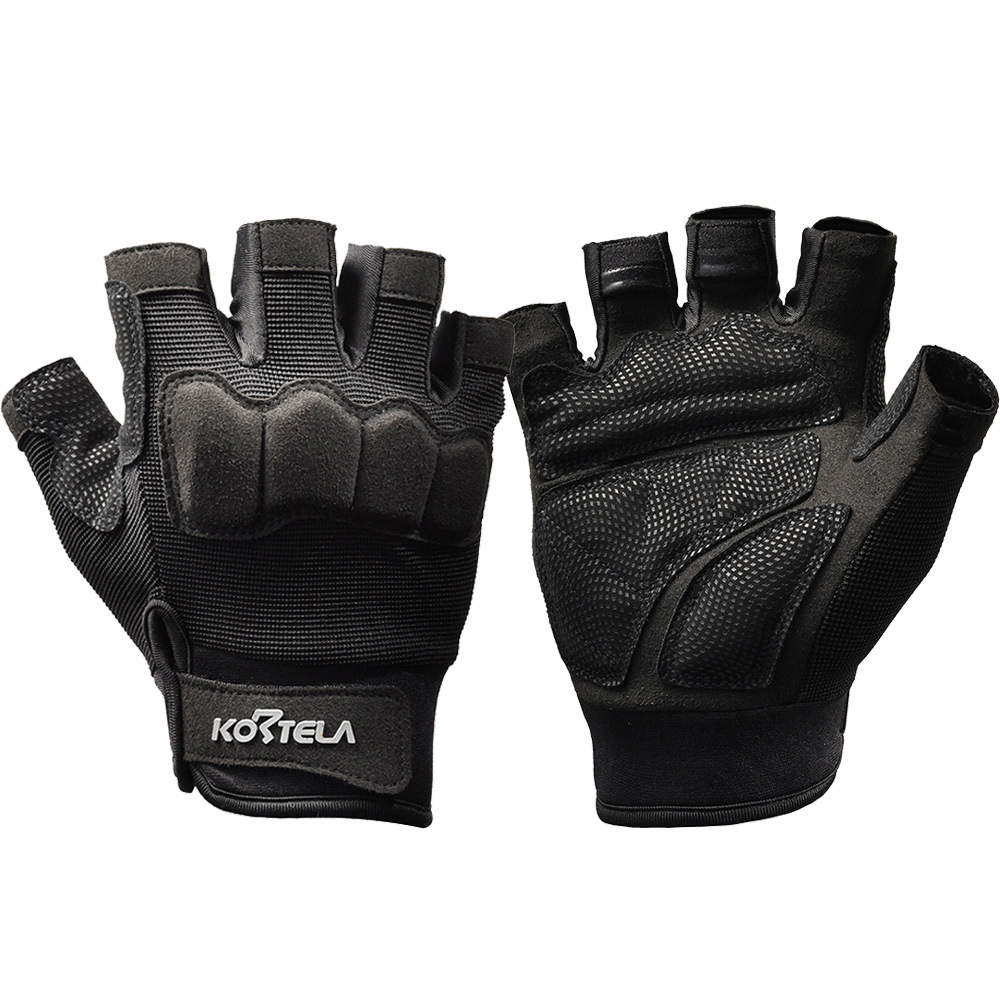 Mens gloves sports direct - Factory Direct Half Finger Cycling Outdoor Fitness Male Sports Fans Commando Army Fighting Kortel Kete La