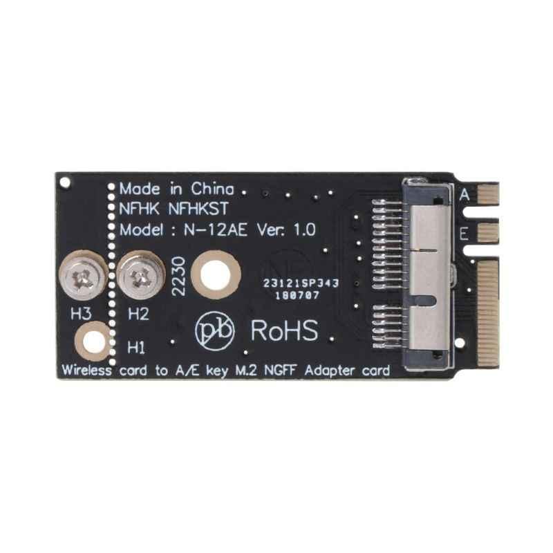 Tablet-BCM94360CS2 BCM943224PCIEBT2 A/E clé NGFF M.2 adaptateur carte Module 12 + 6 broches sans fil WIFI vitesse