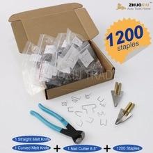 Dent Fix Equipment Hot stapler plastic repair system staples with nail cutter & melt knife,HS-015DF