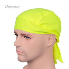 Outdoor Quick Dry Pure Cycling Cap Head Scarf Headscarf Headband Summer Men Running Riding Bandana Ciclismo