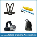 Gopro Accessories Set Chest Head Strap Floating Handle Grip bag For Go Pro Hero 5 4 SJCAM SJ4000 EKEN H9 Xiaomi Yi Action Camera