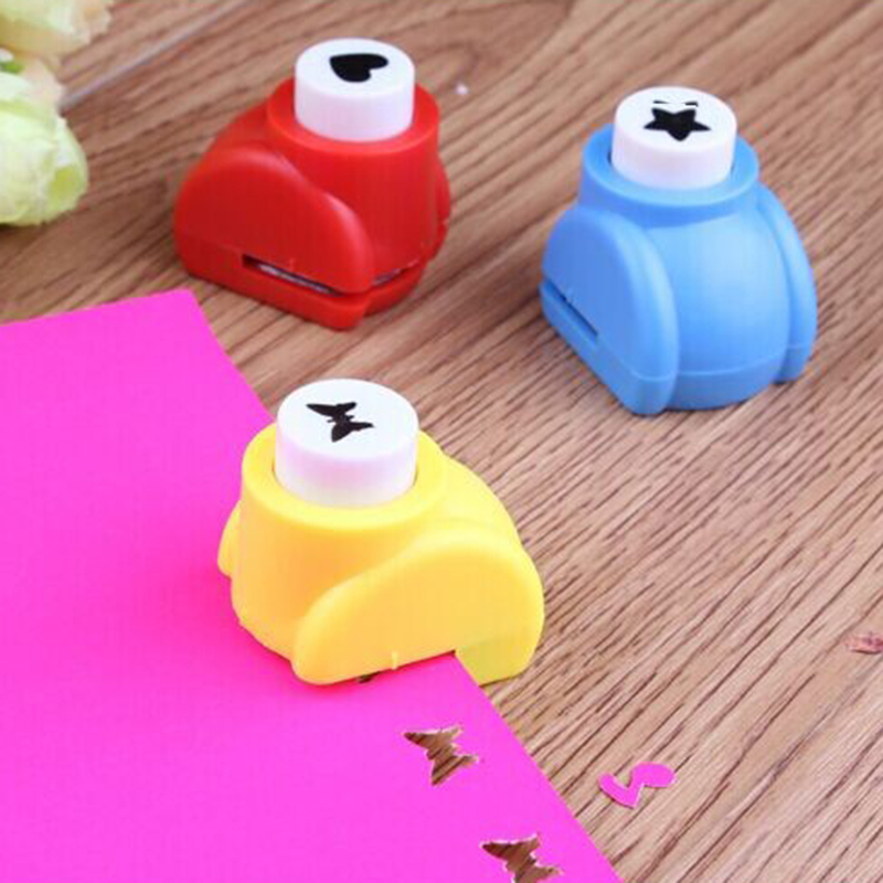 Sealed Mini Printing Paper Flower Cutting Machine Art Baby Toy Punch Diy Paper Cutter Scrapbook Baby Child Toy