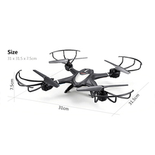 GizmoVine WiFi FPV Camera Drone Real Time Transmission RC Helicopter 2.4G 6-Axis Quadrocopte Headless Mode RTF Drone