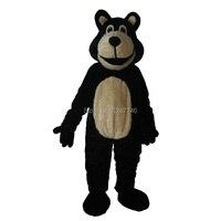 Новинка 2017 martha медведь талисман костюм платье Смешные животные Хэллоуин Рождество Медведь Талисман Взрослый размер бесплатная доставка